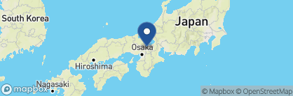 Map of Screen Hotel, Japan