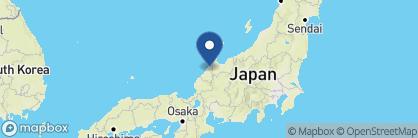 Map of Sai No Niwa, Japan