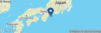Map of Amanemu, Japan
