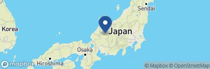Map of Sumiyoshi Ryokan, Japan