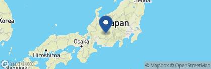 Map of Hanaya Ryokan, Japan