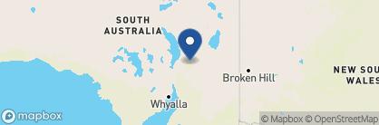 Map of Rawnsley Park Station, Australia