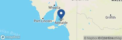 Map of Buxton Manor, Australia