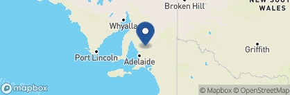 Map of The Louise, Australia