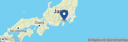 Map of Gora Sounkaku, Japan