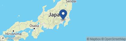 Map of Park Hyatt, Shinjuku, Japan