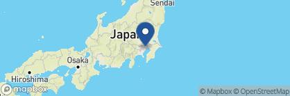 Map of Palace Hotel, Japan