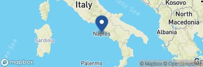Map of Villa Brunella, Amalfi Coast Region