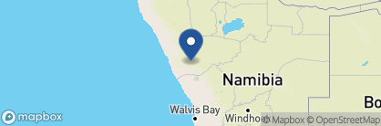 Map of Doro Nawas Camp, Namibia
