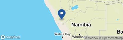 Map of Mowani Mountain Camp, Namibia