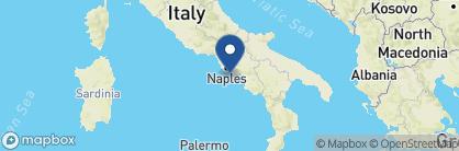 Map of Bellevue Syrene 1820, Amalfi Coast Region