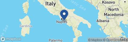 Map of Monastero Santa Rosa, Amalfi Coast Region