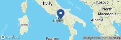Map of Grand Hotel Convento di Amalfi, Amalfi Coast Region