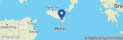 Map of De Stefano Palace, Italy