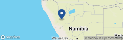 Map of Huab Lodge, Namibia