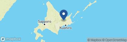 Map of Tsuruga hotel, Japan