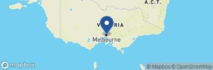Map of QT Melbourne, Australia