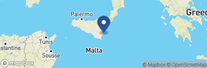 Map of Algila Ortigia Charme Hotel, Italy