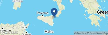 Map of Belmond Villa Sant'Andrea, Italy