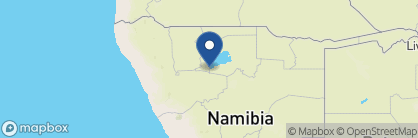 Map of Okaukuejo Rest Camp, Namibia