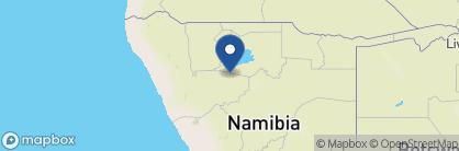 Map of Etosha Safari Lodge, Namibia