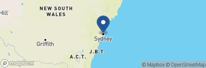 Map of Park Hyatt Hotel, Australia