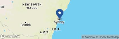 Map of Bondi Beach Penthouse, Australia