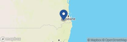 Map of Spicers Peak Lodge, Australia
