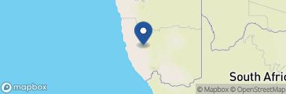 Map of Klein Aus Vista, Namibia