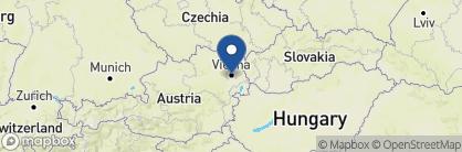 Map of Hotel Sacher Wien, Austria