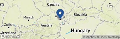 Map of Hotel Topazz, Austria