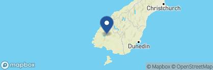 Map of Prospect Lodge, New Zealand