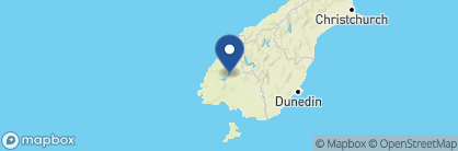 Map of Dunluce Bed and Breakfast, New Zealand