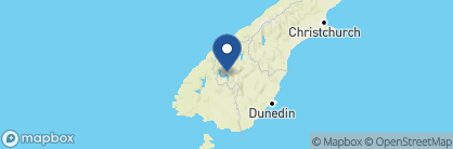 Map of Queenstown House, New Zealand