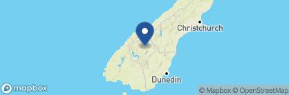 Map of Edgewater, New Zealand
