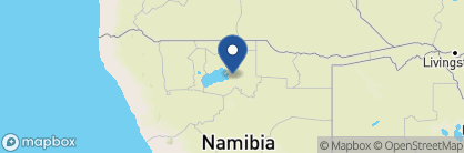 Map of Onguma Plains Camp, Namibia