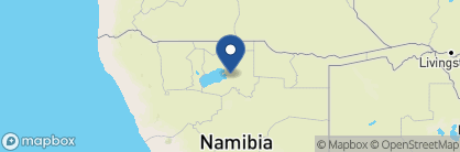 Map of Onguma Tented Camp, Namibia