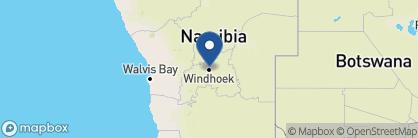 Map of Galton House, Namibia