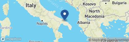 Map of Masseria Montenapoleone, Italy