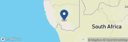 Map of Canyon Lodge, Namibia