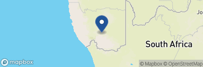 Map of Canyon Roadhouse, Namibia