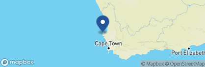 Map of Paternoster Dune Guest Lodge, South Africa