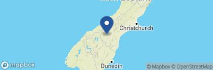 Map of Matuka Lodge, New Zealand