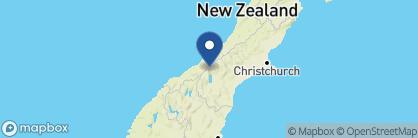Map of Aoraki Court Motel, New Zealand