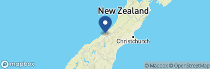 Map of Holly Homestead, New Zealand
