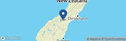 Map of Lake Tekapo Lodge, New Zealand