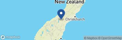 Map of Ranginui B&B, New Zealand