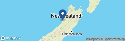 Map of Breakers, New Zealand
