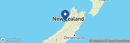 Map of Punakaiki Resort, New Zealand