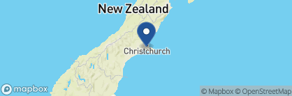 Map of Otahuna Lodge, New Zealand